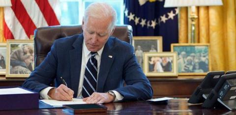 सदनबाट पारित विधेयकमा राष्ट्रपति बाइडेनले हस्ताक्षर